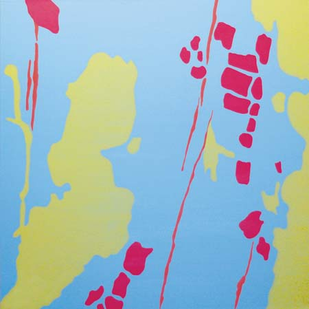 Lisa Marie Sipe acrylic pop art painting