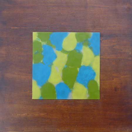 "Lisa Marie Sipe, ""The Shape of Things,"" encaustic on wood"