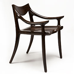 Sam Maloof low back chair