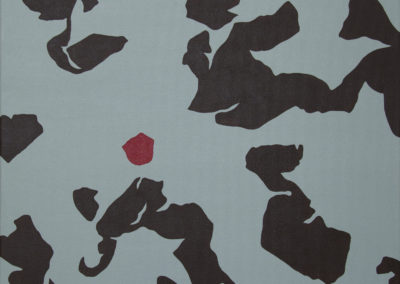 Lisa Marie Sipe, straight edge acrylic painting
