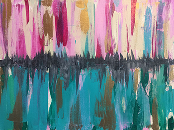 Abstract Painting Lisa Marie Sipe